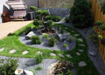 Zahrada s japonskými prvky
